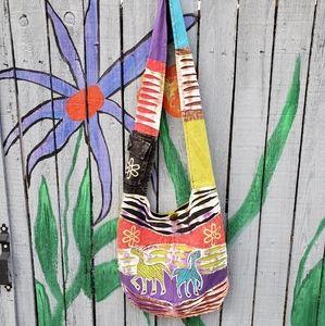 New Rising International Boho Crossbody Bag